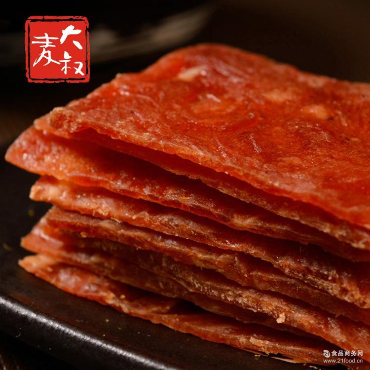 12.5公斤/箱现烤热卖靖江4味可选散装猪米粉爱他美肉脯分段图片