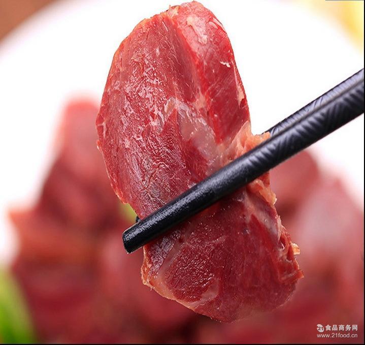 鲜嫩牛肉风干零食 山西特产冠陶黄牛肉454g原味 美味牛肉小吃
