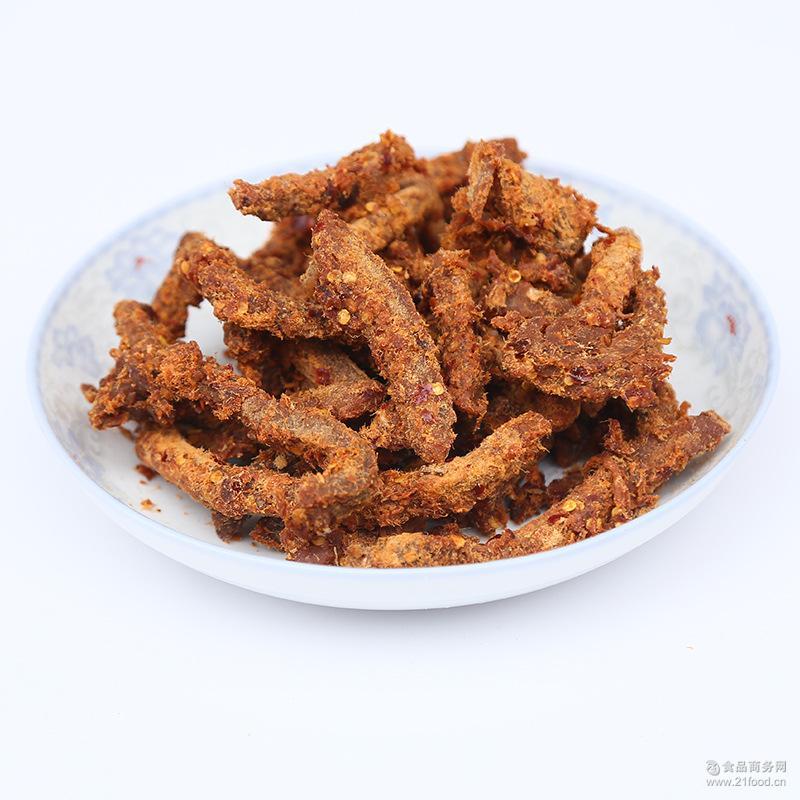 手撕风干牛肉干零食特色产休闲小吃麻辣五香原味牦牛肉批