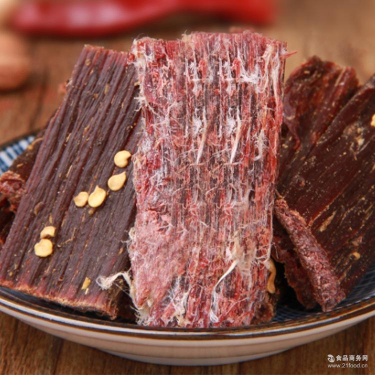 特产牦牛肉干手撕风干牛肉干办公室休闲零食500g