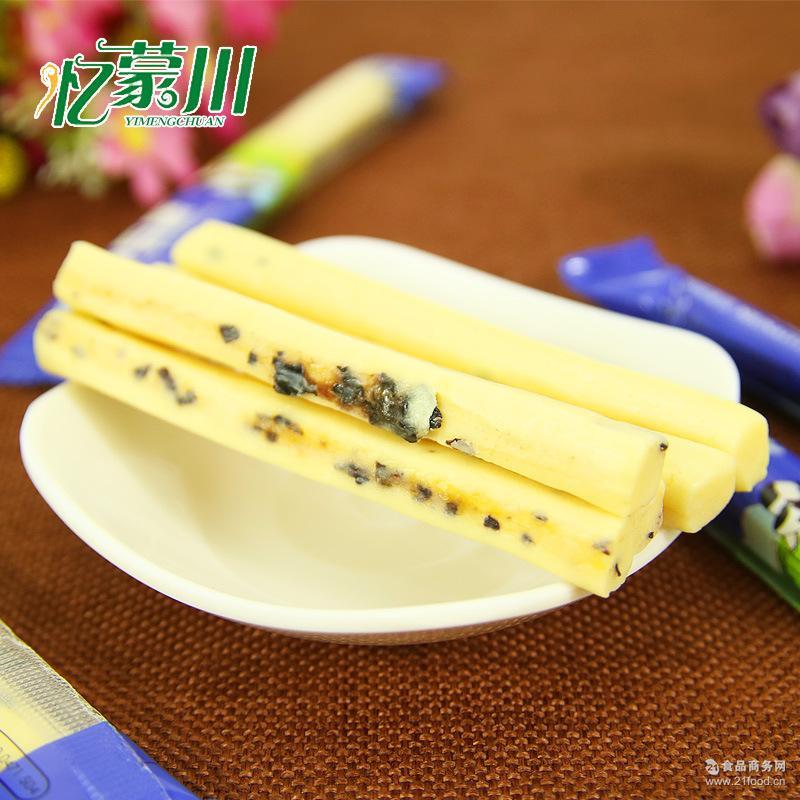 内蒙古特产 微商热款 燕生源发酵独立软奶条500g散称奶酪零食