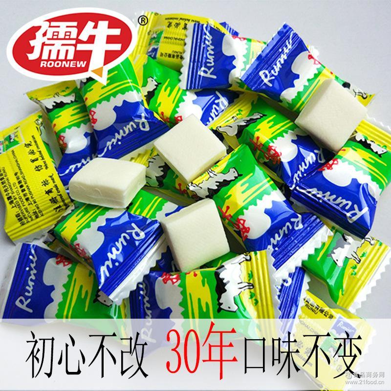 童年怀旧牛奶奶糖系列380g/包休闲办公零食鲜奶糖 孺牛原味糖果