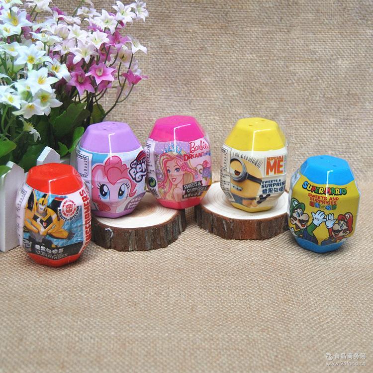 小马宝莉黄人变形金刚马里奥芭比公主儿童奇趣玩具蛋糖果魔法石批
