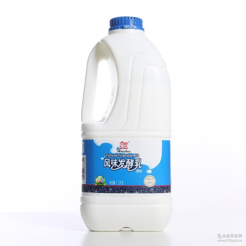 辉山益生菌酸奶乳制品饮品批发 辉山风味发酵乳原味1.2kg大桶酸奶