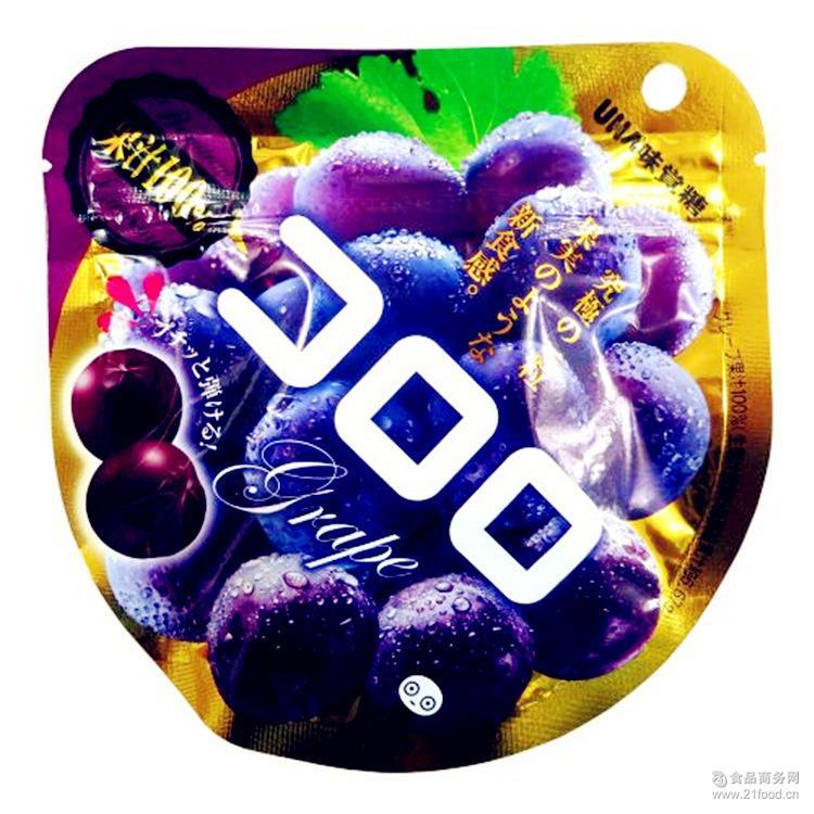 新品特价促销 *葡萄果汁味觉糖 【进口食品】日本进口悠哈UHA