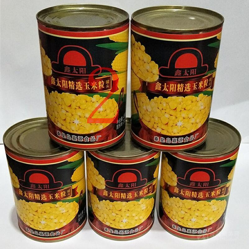 甜玉米粒罐头400g比萨沙拉甜点玉米烙钓鱼* 玉米粒