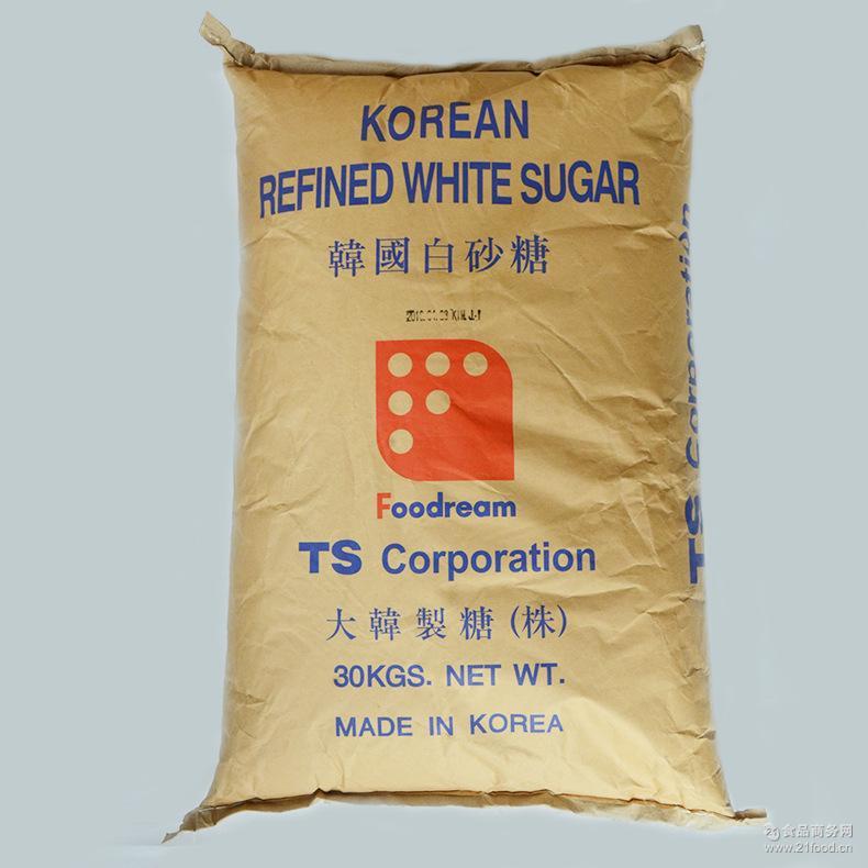 价格波动大 只接受时价 蔗糖批发  韩国白砂糖* 厂价直销