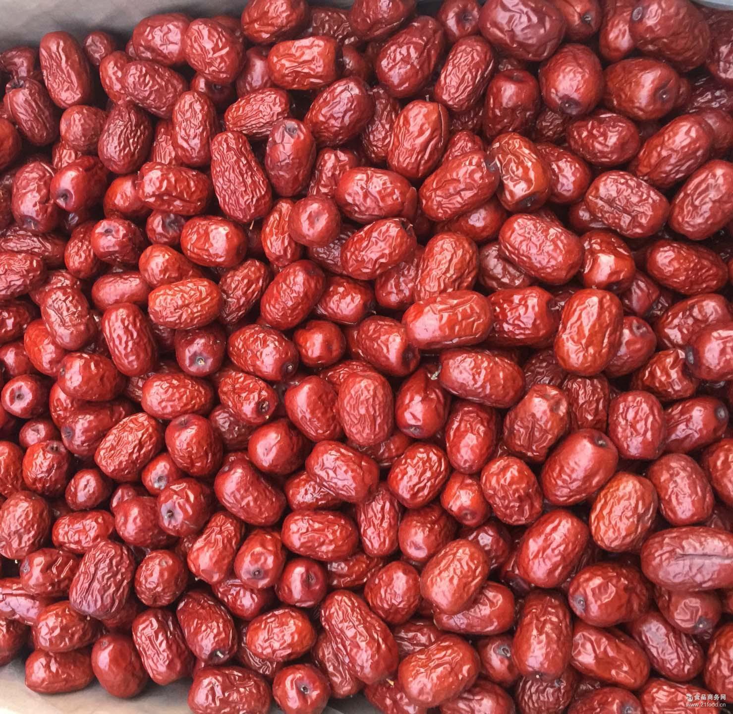 二级灰枣 新疆特产若羌一级红枣免洗枣 零售批发* 500g/袋