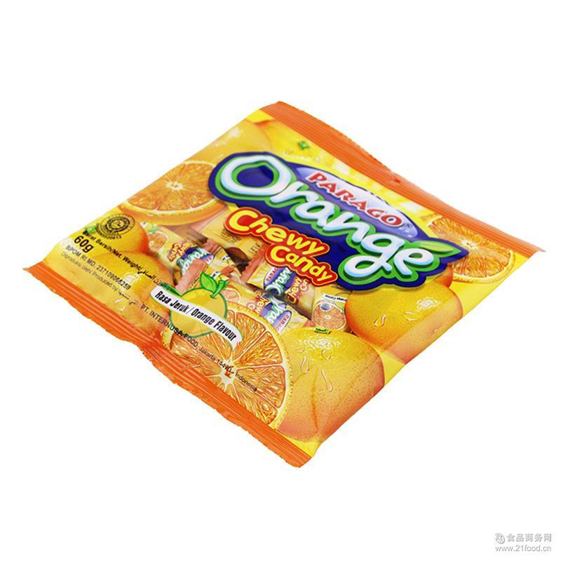 食品类 休闲食品 糖果 > parago草莓味糖 健康营养零食袋装糖果儿童