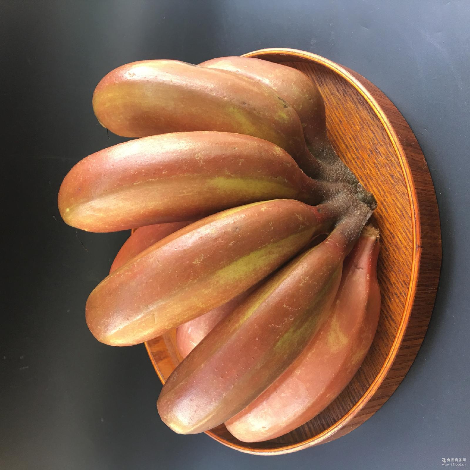火龙蕉 红皮 现货现摘现发新鲜水果红香蕉孕妇水果福建漳州红香蕉