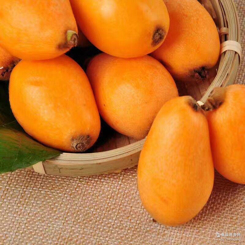 无货中四川龙泉新鲜水果批发五星大枇杷果园直供现摘现发5斤装