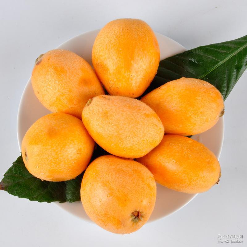 批发新鲜水果四川汉源特色水果五星大枇杷现摘现发农场直供5斤装