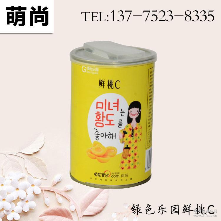 绿色乐园鲜桃C黄桃罐头砀山新鲜水果糖水罐头 整箱装425g*8罐