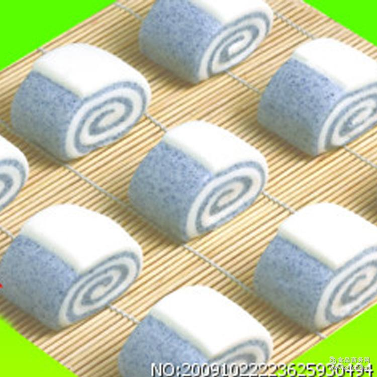 [上海安井总代理商]1kg黑米馒头 早餐馒头 出口面点速冻馒头