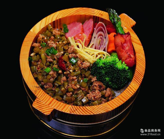 厂* 蒸烩煮酸豆角炒鸡肉末500g方便米饭速食料理 混批量大包邮
