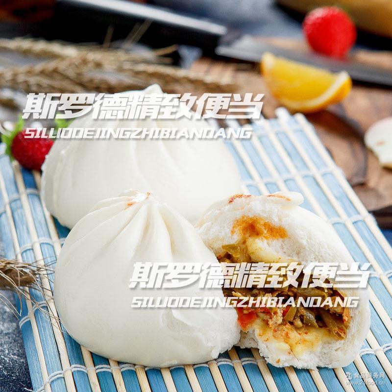巴比馒头酸豆角包子速冷冻成品美味厂学校早餐糕点面点24只/袋