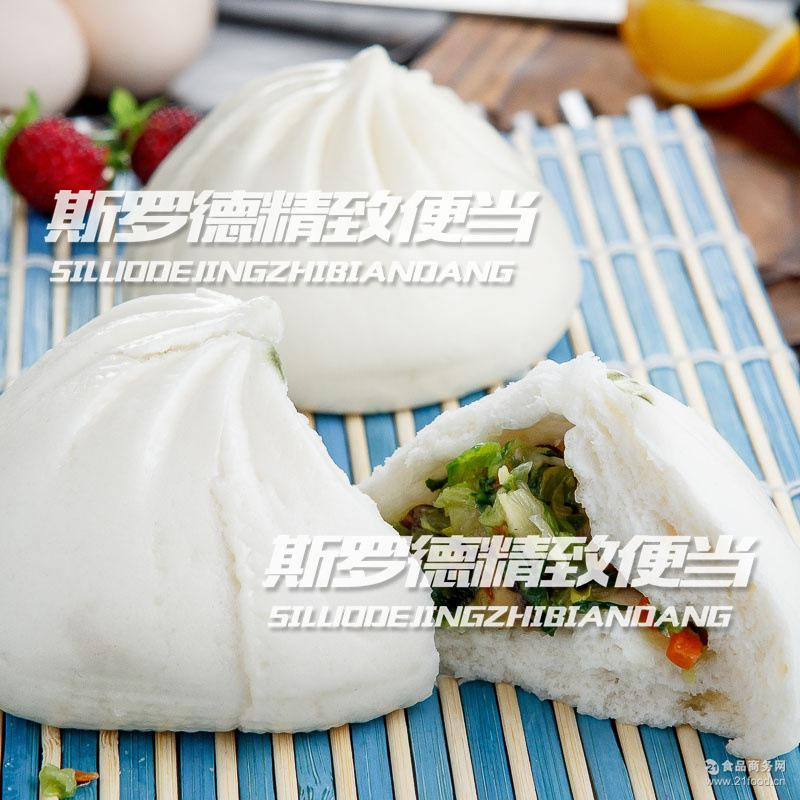 巴比馒头香菇菜包子速冷冻成品美味早餐工厂学校糕面点24只/袋