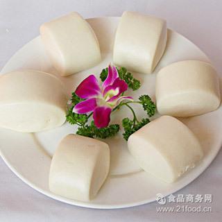 早餐点心 奶香馒头 厂家专业供应 面点速冻食品 刀切馒头