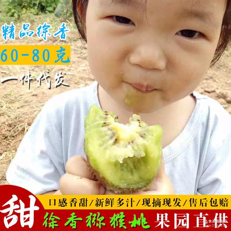 陕西眉县绿心徐香猕猴桃新鲜水果奇异果5斤装一件代发 包邮
