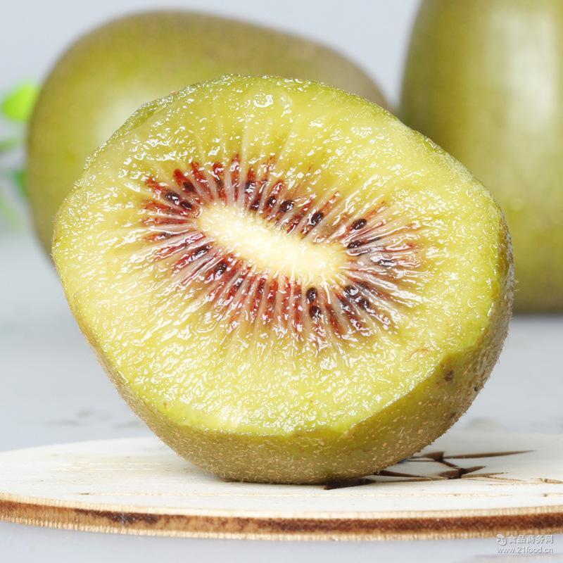 红心猕猴桃上虞新鲜水果舜阳猕猴桃红心奇异果24颗小果装现摘包邮