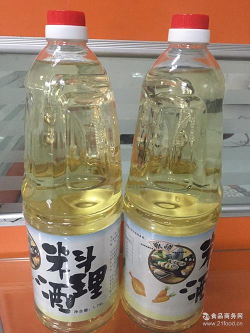 日式料理 贩道日本清酒 料理专用料酒 贩道料酒合成清酒1.8L