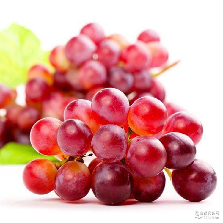 新疆红提葡萄 颗粒饱满 味道甜美 新疆特产红提葡萄 口感甘甜
