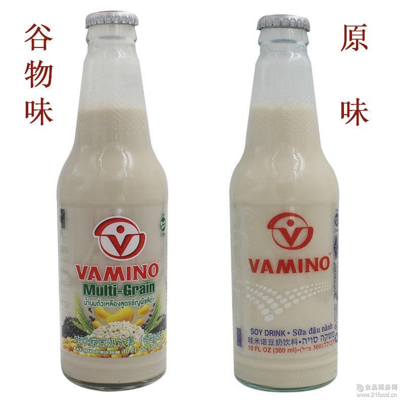 Vamino 泰国进口 哇米诺豆奶饮料早餐豆奶整箱批发报关卫检齐全