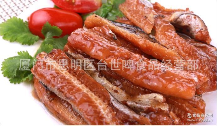 味全豆豉红烧鳗100g*24罐 台湾进口 鱼罐头即食海鲜鱼肉水产食品