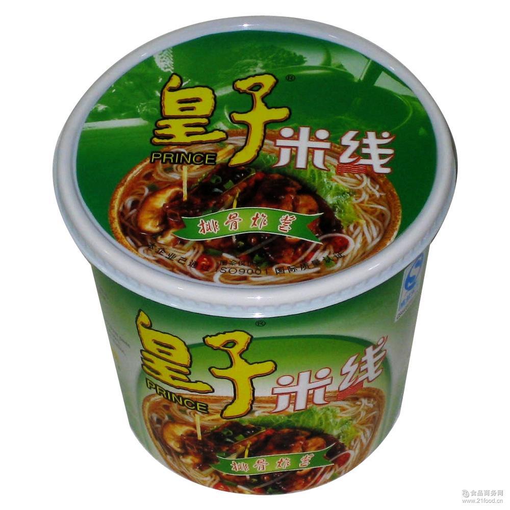 杯装 排骨炸酱味 皇子即食过桥米线 *出口批发商超 厂家直销