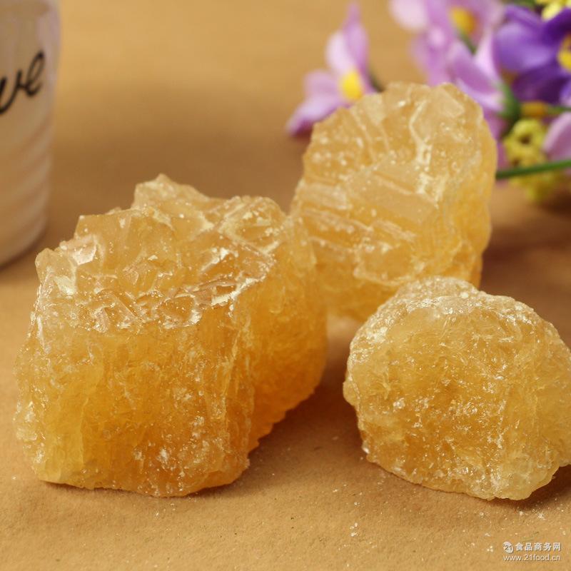 厂家直销优质黄冰糖老冰糖500g多晶体冰糖止咳润肺甜品原料批发