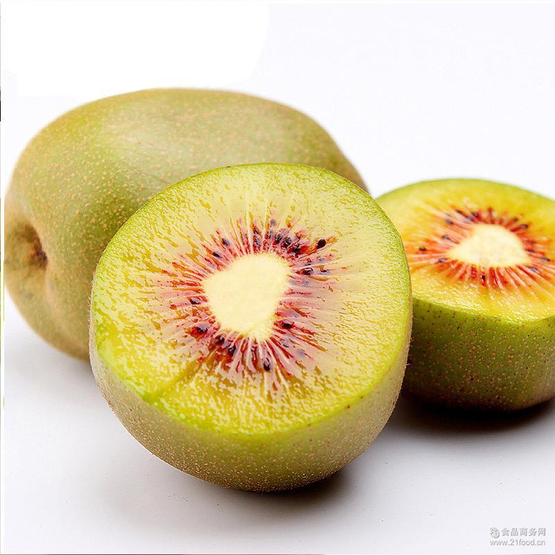 红阳奇异果30粒 预售8月底伏牛山红心猕猴桃新鲜水果5斤包邮