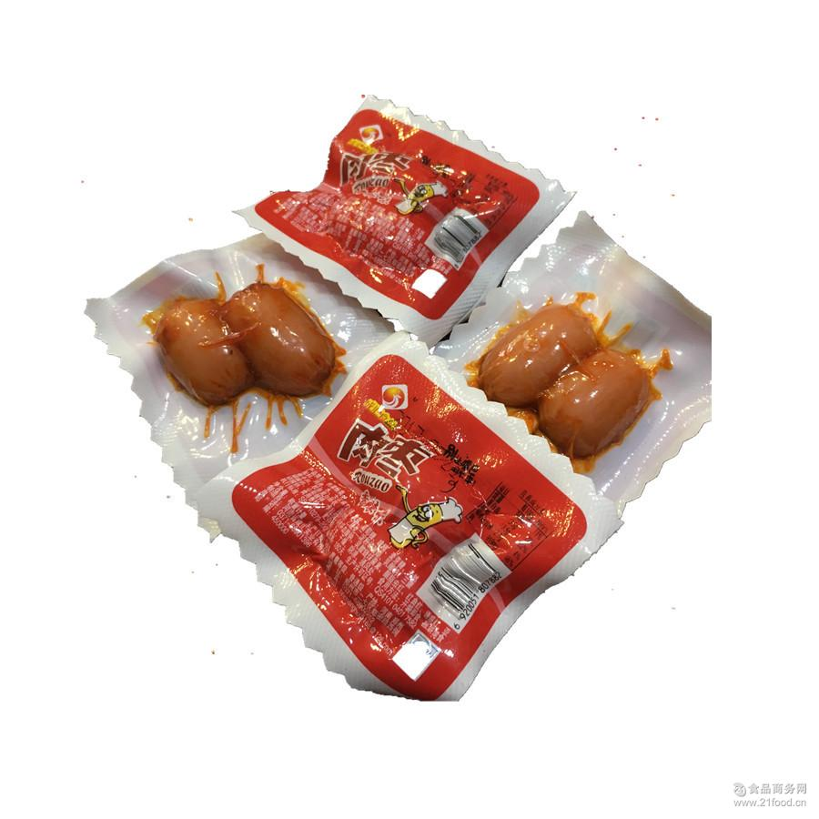 肉枣小香肠 零食香辣味小吃迷你烤肠新鲜肉类小吃 成汇食品