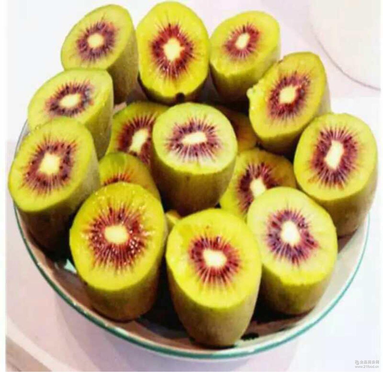 新鲜水果苍溪红心猕猴桃 优质红心猕猴桃3斤装5斤装直销