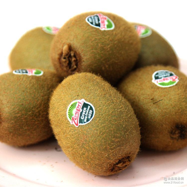 【新果源】进口水果新西兰佳沛奇异果经典绿果36,原装箱 包邮