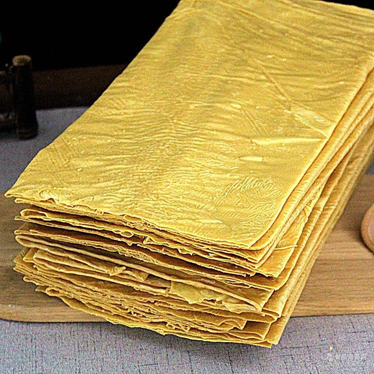石屏豆腐皮12斤/整箱 云南特产厨房食材腐竹豆腐干素肉油豆皮批发