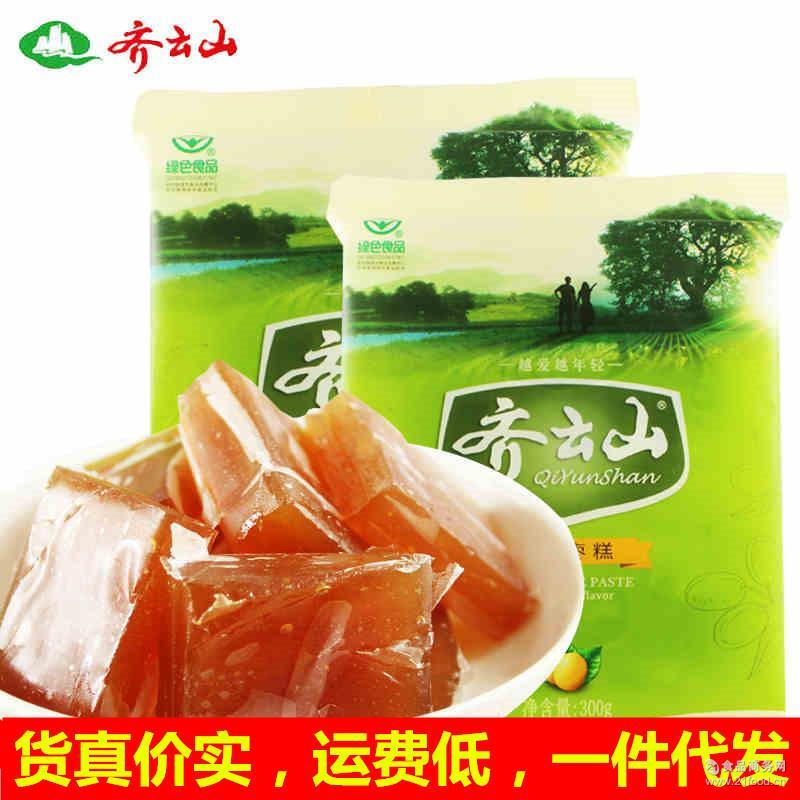 齐云山南酸枣糕2公斤 整箱8kg 酸枣果脯蜜饯休闲零食江西特产