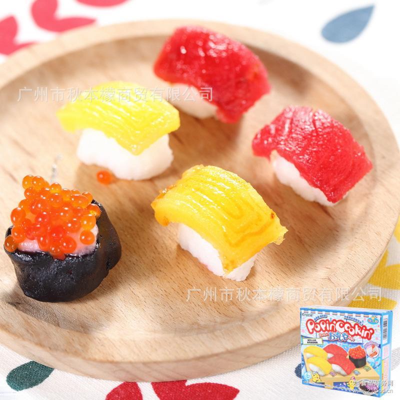 日本进口糖果 嘉娜宝手工DIY制作糖果工创意寿司5228/甜甜圈5242
