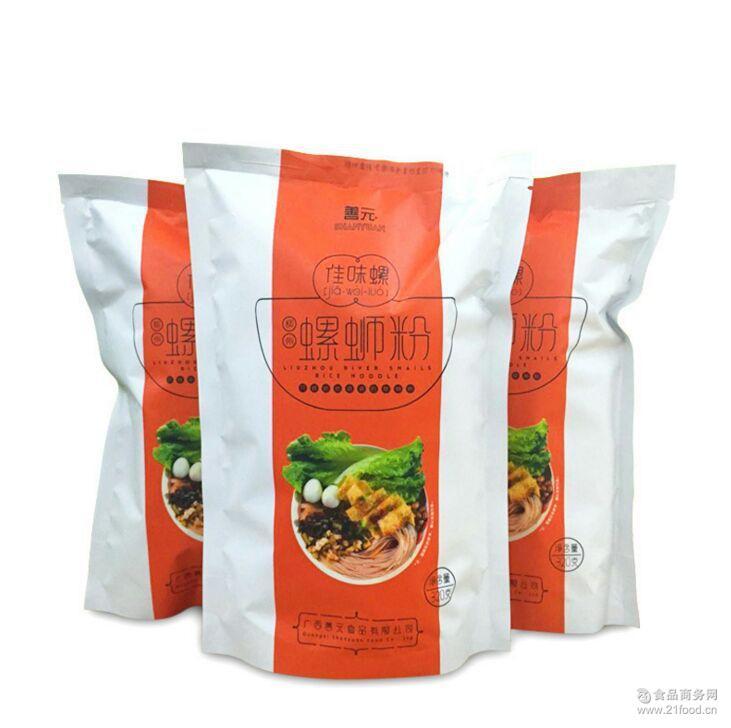 方便面米线 广西柳州 螺蛳粉320g*10袋装 螺丝粉厂家直销 佳味螺