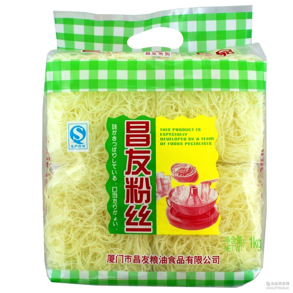 *商超 昌友1000g粉丝 新竹米粉 批发餐饮 优质火锅粉丝
