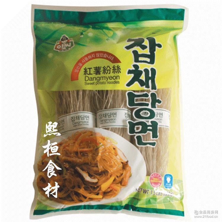 680g*15 ASSI新娘子阿氏韩式地瓜粉条红薯粉丝炒杂菜火锅安东鸡