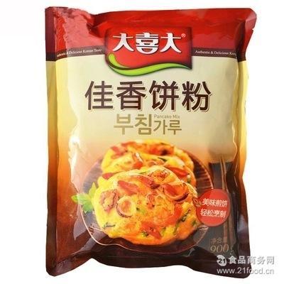 大喜大饼粉CJ希杰酥香饼粉佳香煎饼粉海鲜泡菜土豆煎饼900g*10