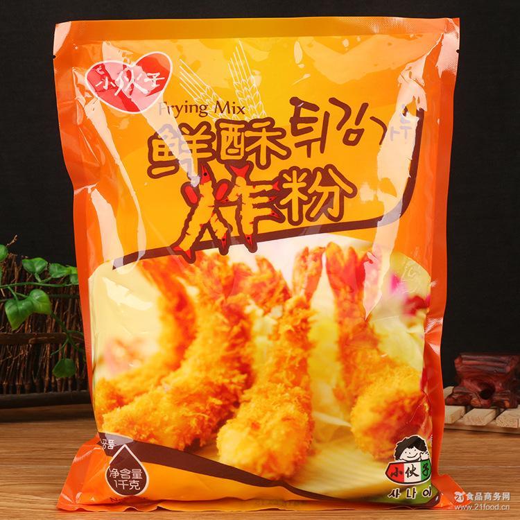 小伙子炸粉韩式天妇罗粉炸鸡裹粉酥炸粉油炸裹浆粉 1kg*10