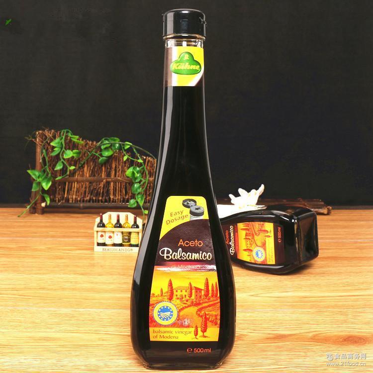 500ml*6 西餐沙拉汁色拉汁 【冠利】德国进口黑醋香醋