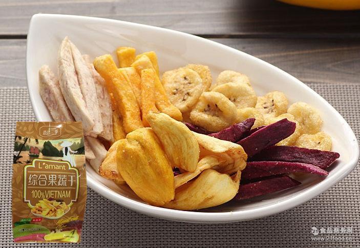 色干综合_一件4斤 香脆水果片 休闲零食 综合果蔬果干 泰国进口价格    色差