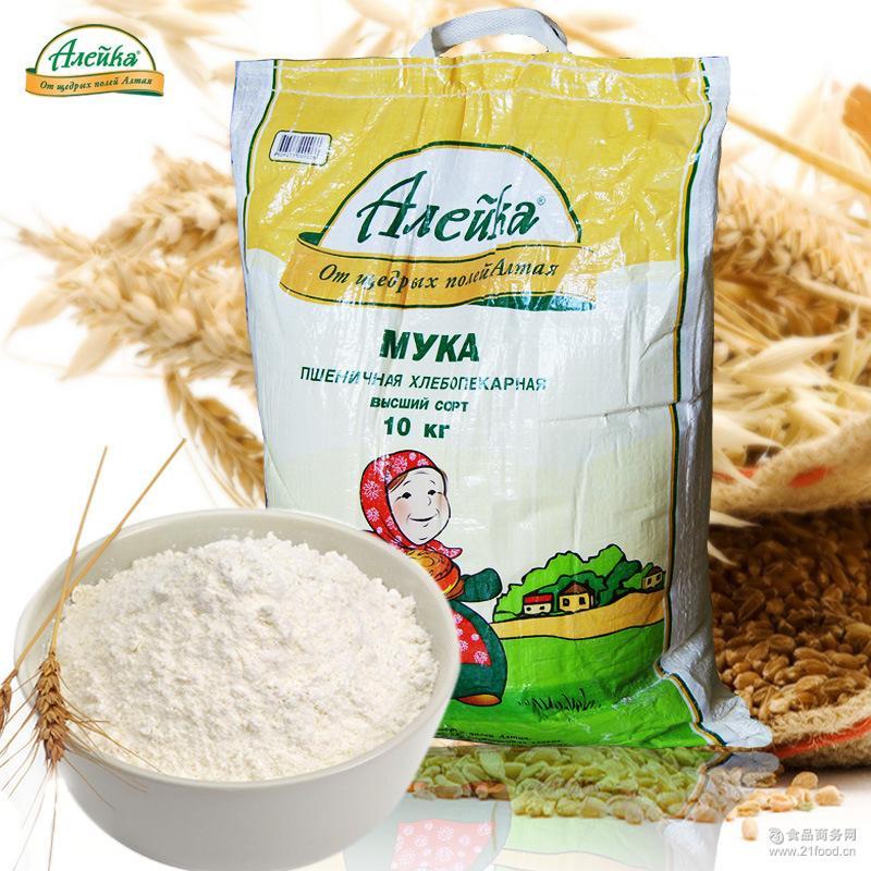 烘培原料 10kg/袋 多用途小麦粉 艾利客 俄罗斯原装进口面粉