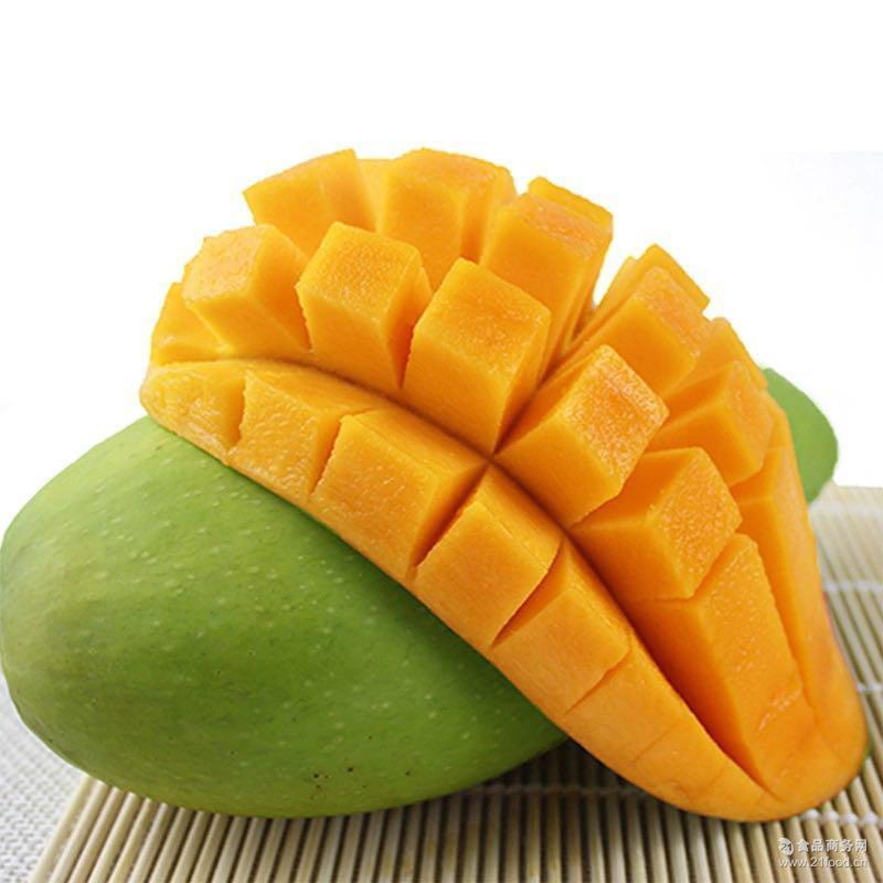 大青芒果 肉厚无丝 甜而不腻 坏果包赔 果园直供 8斤包邮
