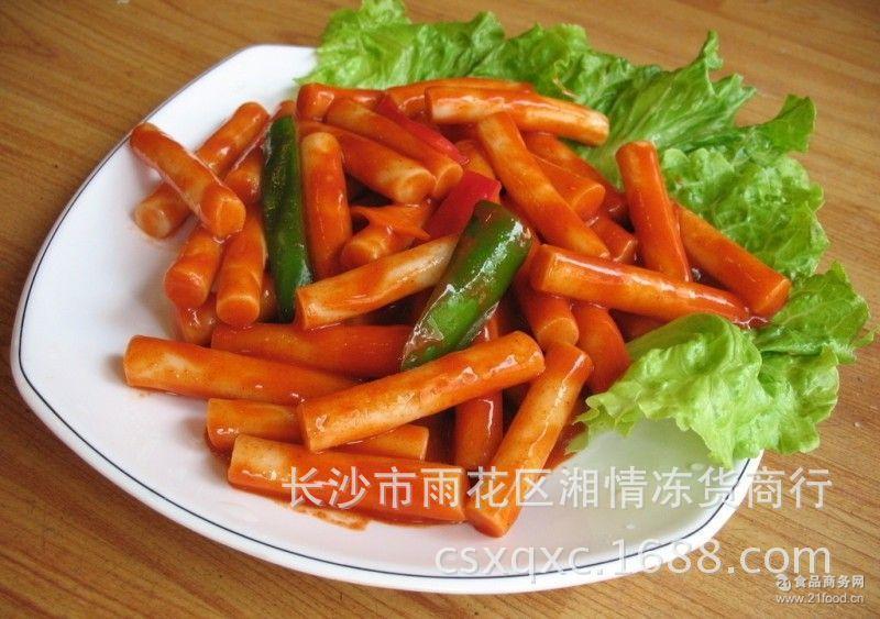 不添加色素 信诺微香缘火锅年糕 韩国风味 常温食品