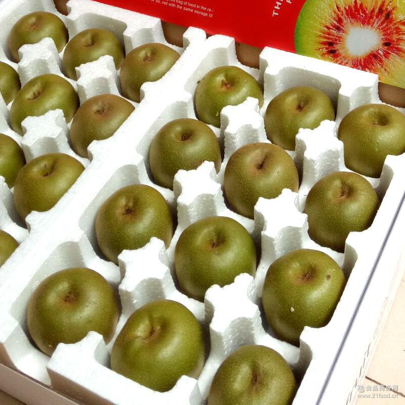 预售蒲江红心猕猴桃奇异果24个礼盒装精品大果新鲜水果8月25日发