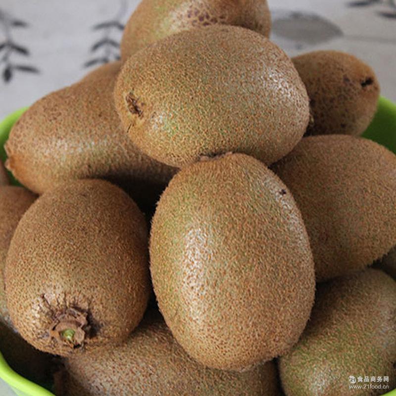 绿心猕猴桃新鲜现摘奇异果 无残留绿色水果包邮 预售8月中旬发货