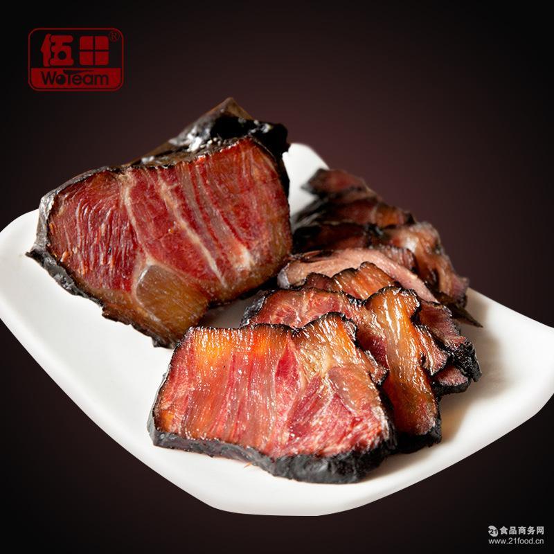 伍田黑牛肉酱卤牛肉五香卤味熟食下饭下酒凉菜200g
